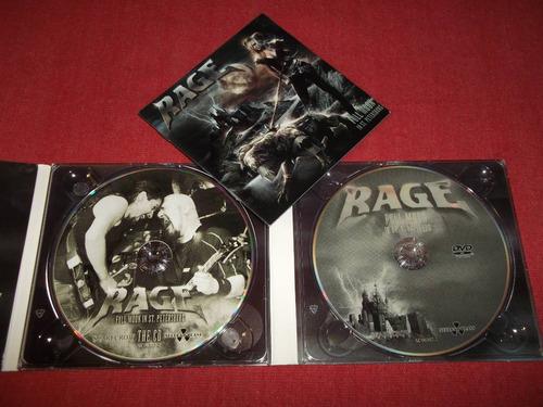 rage - full moon in st petersburg cd + dvd nac ed 2007 mdisk