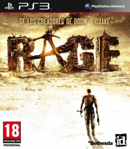 rage - ps3 - semi novo