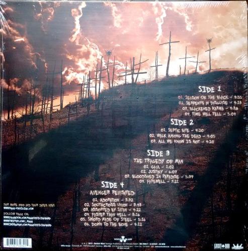 rage - seasons of the black - vinilo doble nuevo