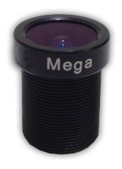 ragecams 6mm. infrarrojos lente para cámara gopro hero 1,