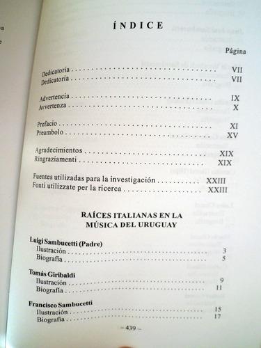 raices italianas de la musica en el uruguay julio c. huertas