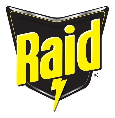 raid anti polilla percha - 12 unidades dobles