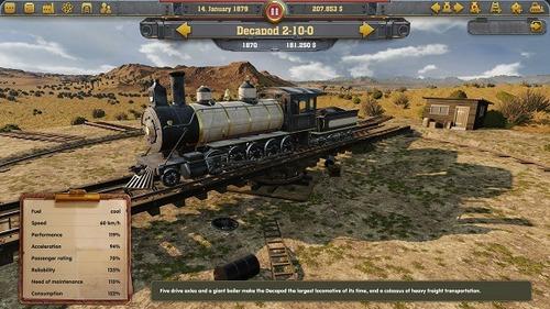 railway empire (pc) (juego fisico)