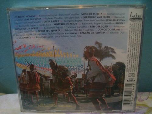 raimundo fagner - donos do brasil - cd nacional