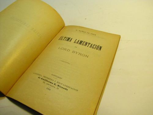 raimundo lulio. ultima lamentacion. g. nuñez de arce. 1904