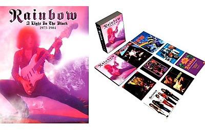 rainbow - a light in the dark 75-85 5cds 1dvd ( deep purple)