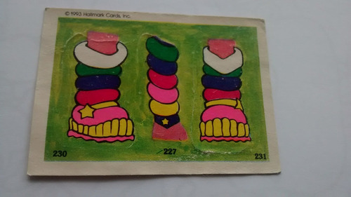 rainbow brite #227 230 231 sin despegar cromy 1993