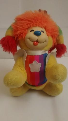 rainbow brite puppy brite perro muñeca vintage 1983 lili