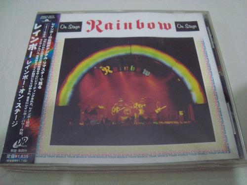 rainbow  dio  on  stage remaster  cd japon