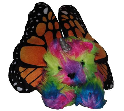 rainbow kitticornfly relleno fantasía mística única an...