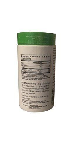 rainbow light gummy vitamin c slices 75 plus natural vita
