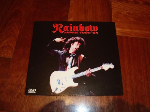 rainbow live in japan 1984  dvd importado