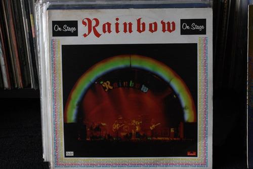 rainbow on stage duplo importado  uk lp