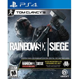 Rainbow Six Siege Deluxe Ps4 Físico Nuevo Soy Gamer Berazate