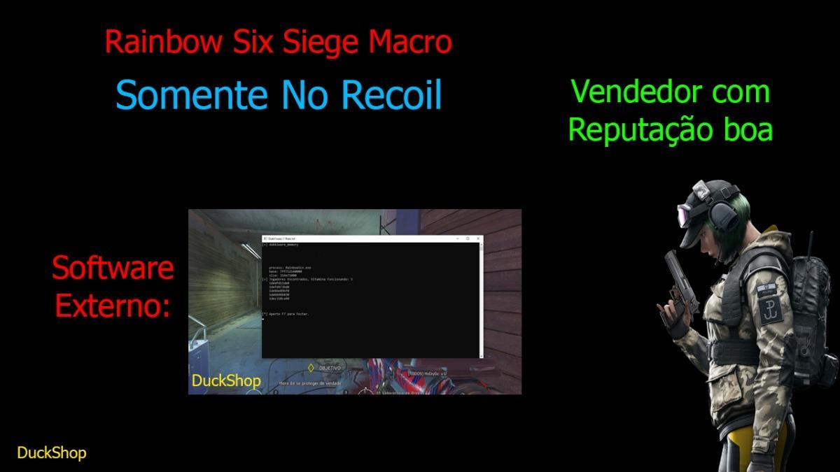 Rainbow Six Siege No Recoil Macro