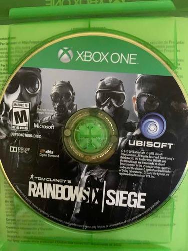 rainbow six siege xbox one disco