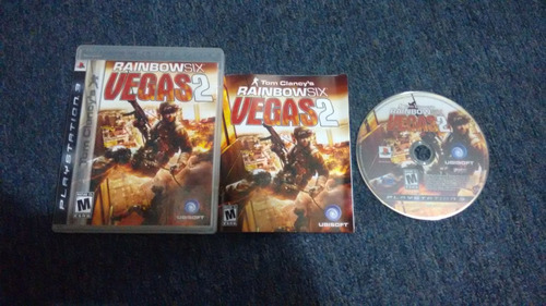 rainbow six vegas 2 completo para play station 3,excelente