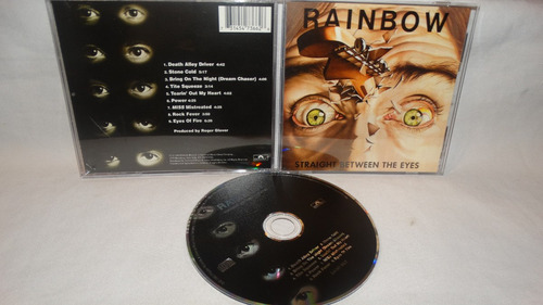 rainbow - straight between the eyes (remasters)