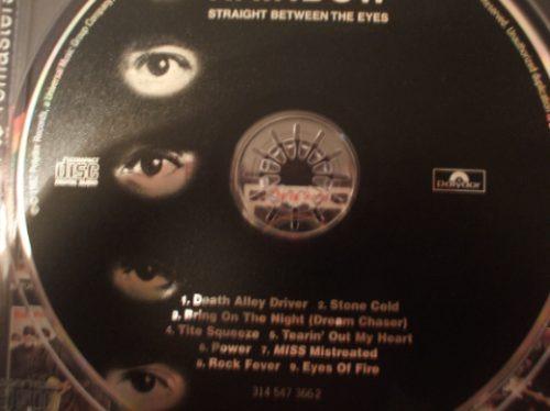 rainbow stright between the eyes cd remasterizad (caballito)