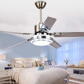 Acero Techo 5 Rainierlight Ventilador Ino Moderna Del De Del Yf7b6yg