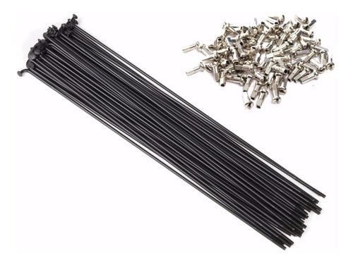 raio inox 255x2,0mm preto pacote com 36 raios