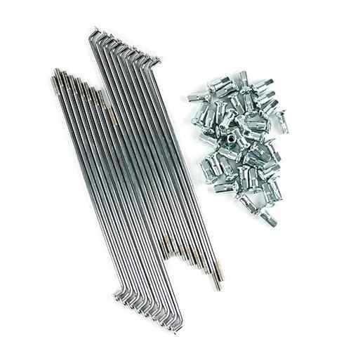 raio traseiro nxr125/150 zincado ref   jogo