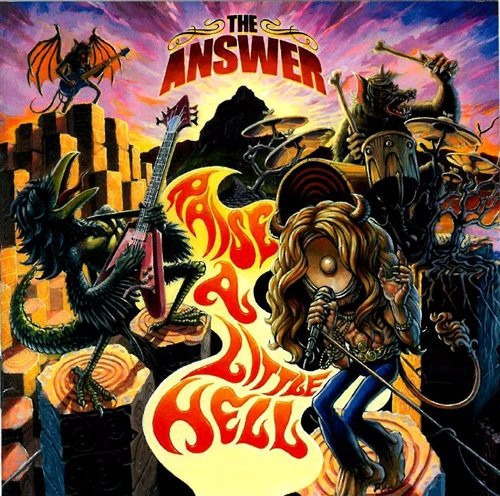 raise a little hell answer 2 discos cd 18 canciones ltd