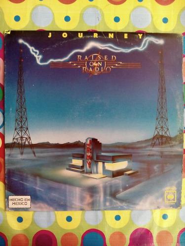raised on radio lp1986  journey