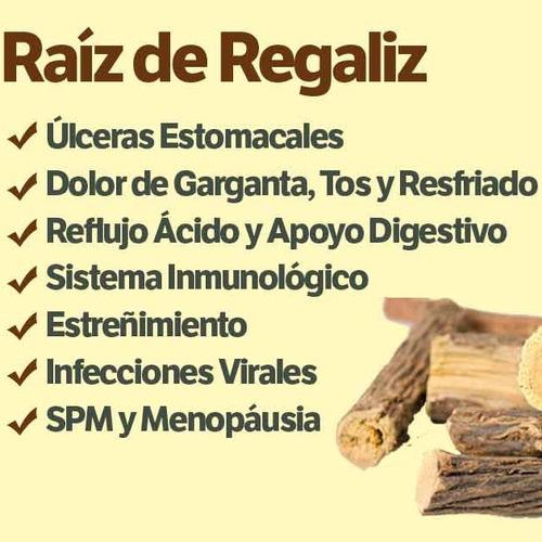 raíz de regalíz ( licorice root ) - gastritis acidez úlceras