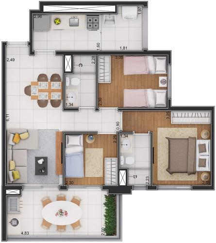 raizes vila matilde apartamento  dormitórios suite vaga