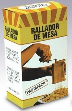 rallador de queso manual para mesa pastafacil