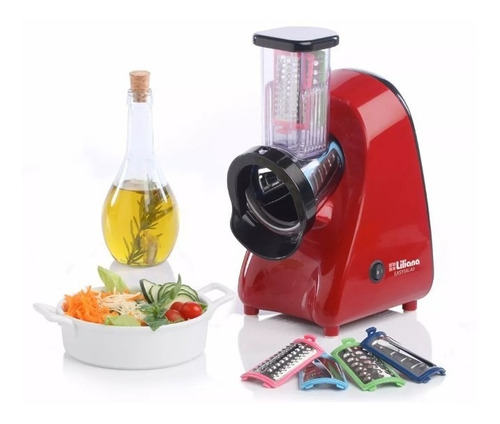 rallador electrico de alimentos liliana asm100 250wts
