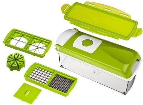 rallador y cortador de frutas & verdudas + 13 accesorios