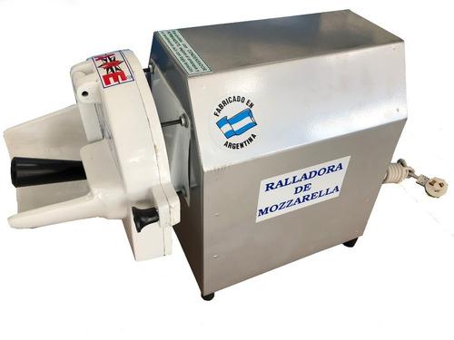 ralladora electrica de queso mozzarella 40 kg