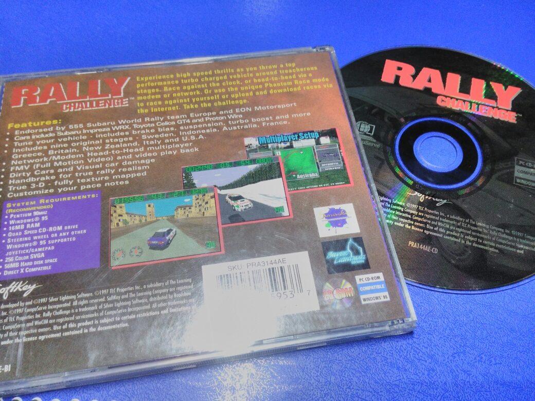 Rally Challenger Jogo Pc Windows 95
