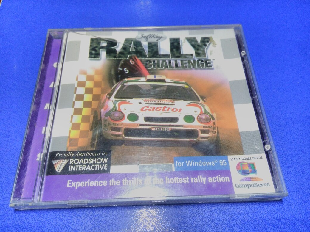 Rally Challenger Jogo Pc Windows 95