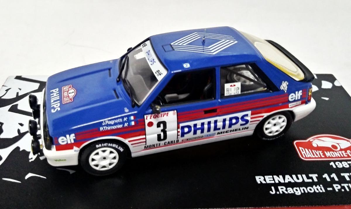 Toys Time Hobbies Rally Renault 11 Turbo J Ragnotti 1 43 Ixo Altaya 2 490 00