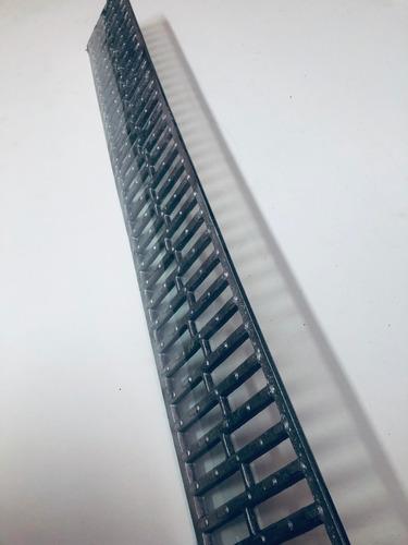ralo 13x100 alumínio fundido (sem caixilho ) anti-derrapante