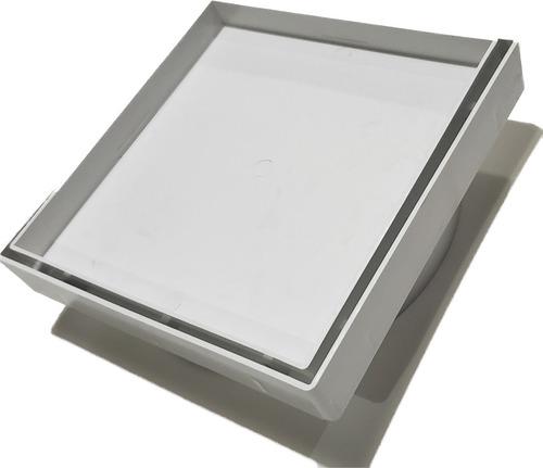 ralo 15x15 cm invisível oculto anti odor/inseto inteligente