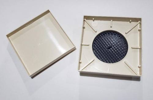 ralo 15x15 invisível oculto anti inseto inteligente sifonado
