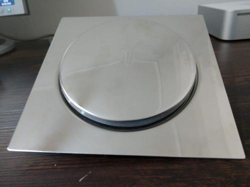 ralo click inteligente para piso 15 cm x 15 cm