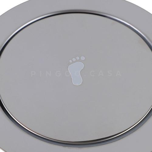 ralo click up 15cm inteligente redondo veda cheiro