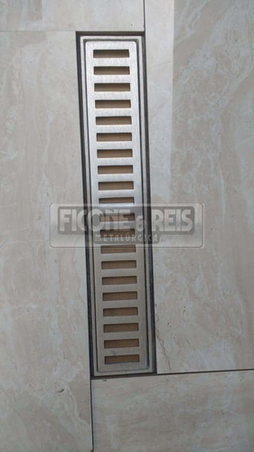 ralo grelha pluvial 10x50 aluminio