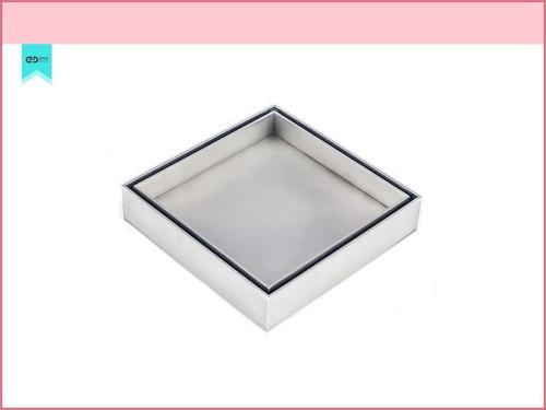 ralo inox square tampa invisive oculta 15x15 nao é pvc