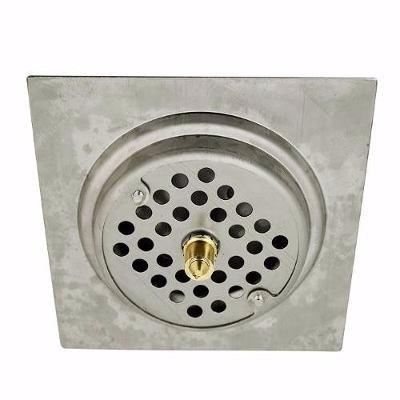 ralo inteligente sistema clic 10x10 aço inox para banheiro