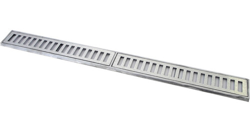 ralo linear, 10x100cm, grelha, alumínio fundido !