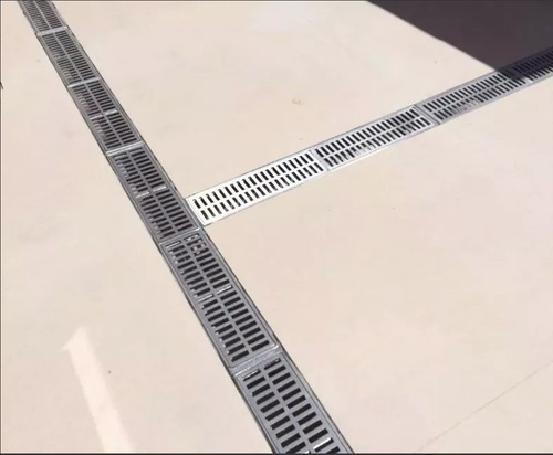 ralo linear 15x100 cm alumínio fundido, envio imediato!