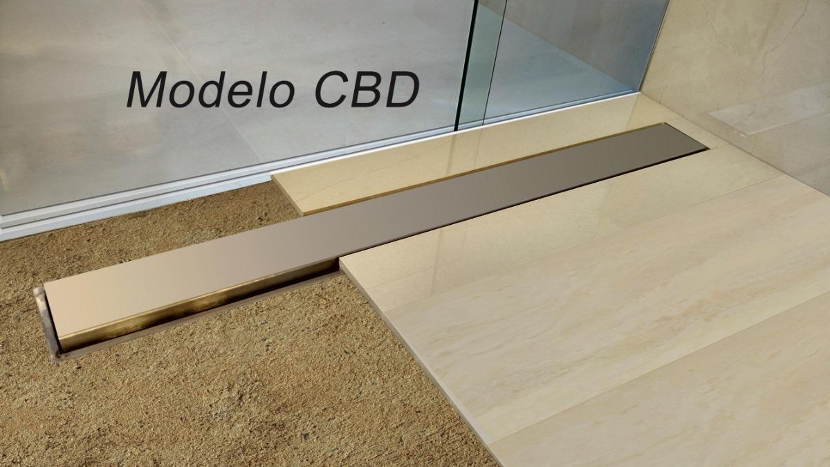 Ralo Linear 65 Cm 100 Inox Box Banheiro Sifonado Seca Piso