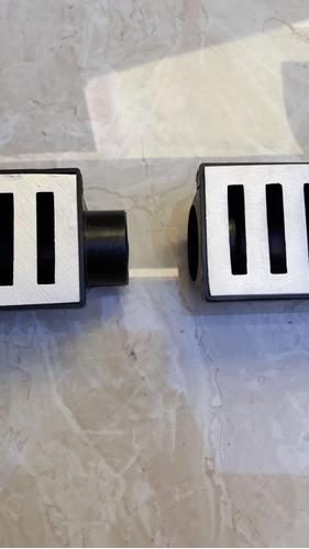ralo linear 6x50 em alumínio com caixa coletora