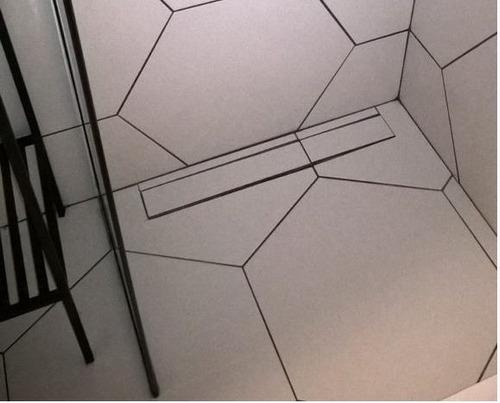ralo linear 70cm smart line invisivel oculto saida lateral